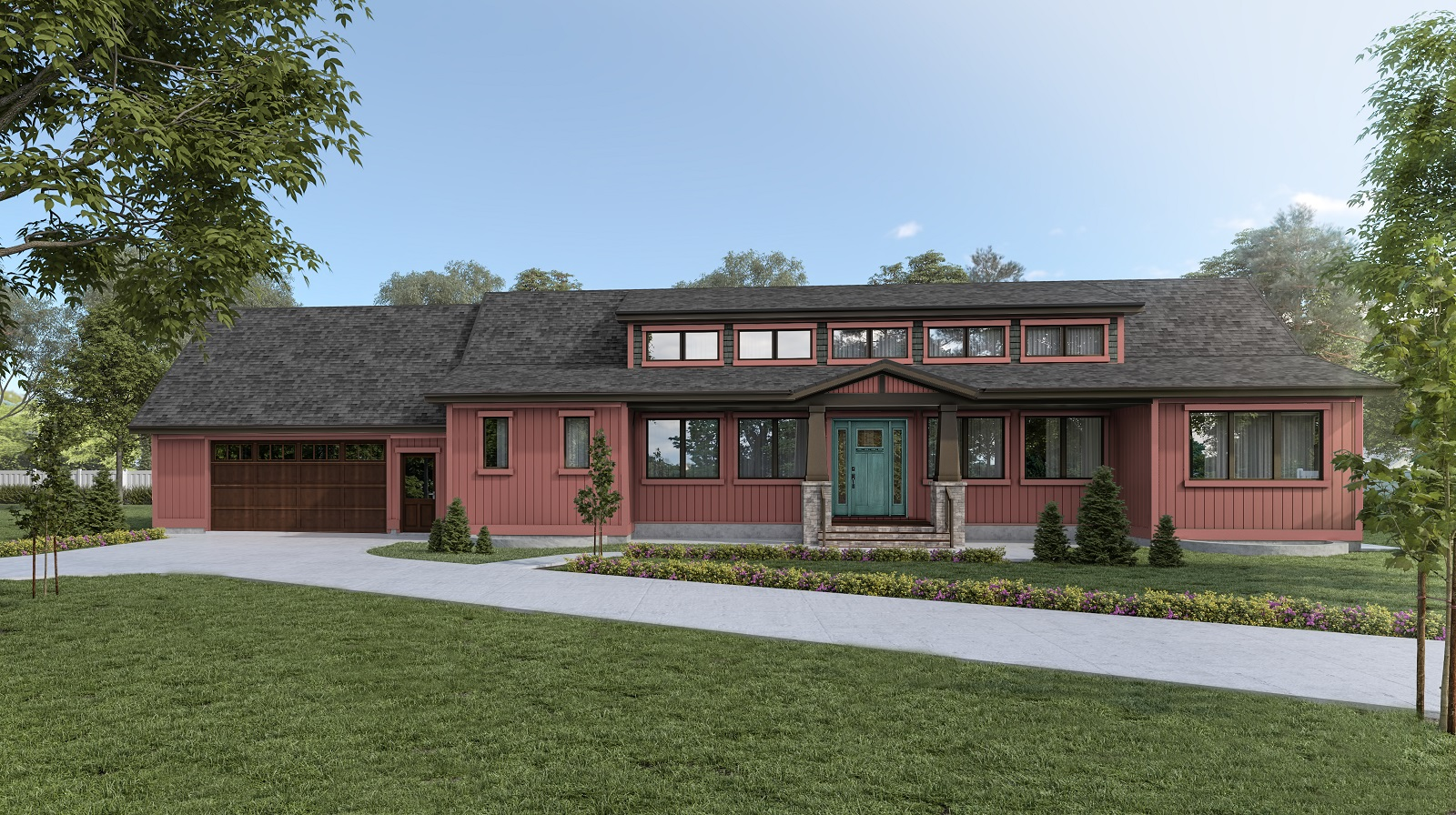 1900 sq ft 4 Bedroom 3.5 Bathroom 'Blue Water Ridge' Series Energy Performance Home